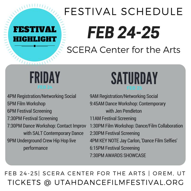 Utah, Dance, Film Festival Utah