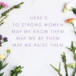 International Women's Day- Free quote. Free printatble